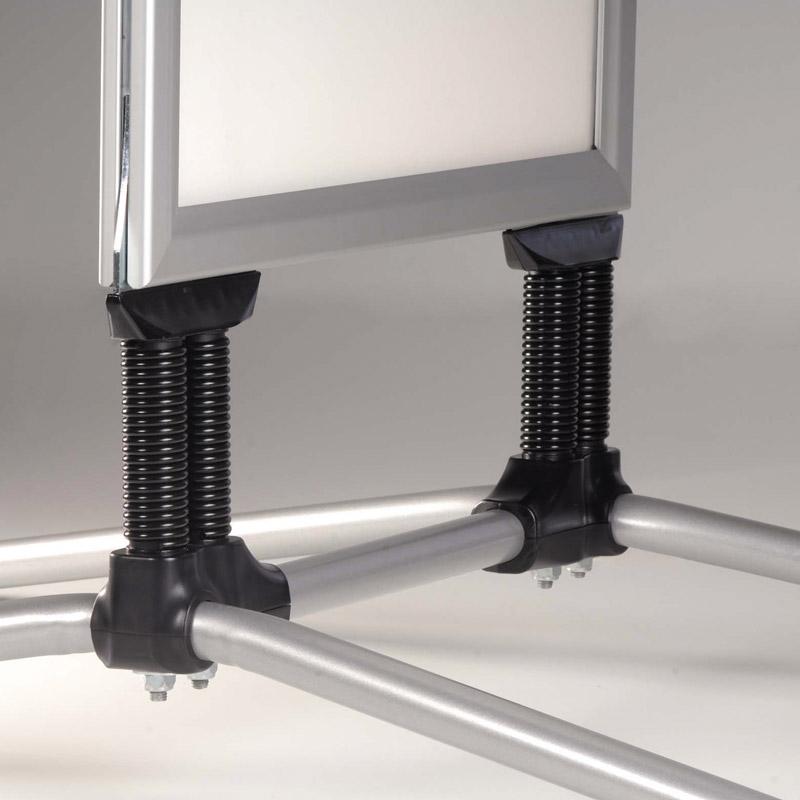 Swing Pro B2, 500 x 700 mm, gris, coins à onglet