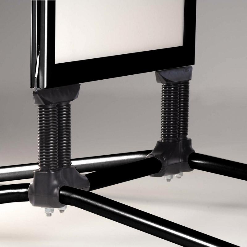 Swing Pro B2, 500 x 700 mm, noir, coins en onglet