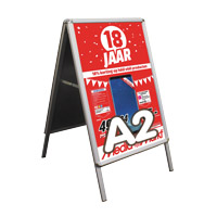 Click-A-Standard 32 mm A2 runde Ecken