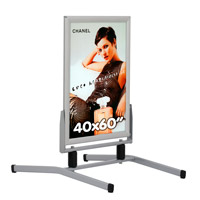 Eco Swingmaster Aluminium waterdicht 40 x 60 inch