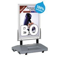Rollerbase Swingmaster Eco met watervoet B0 1000 x 1400 mm 100% waterdicht