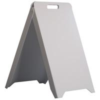 Kunststof draagbaar stoepbord 500 x 880 mm