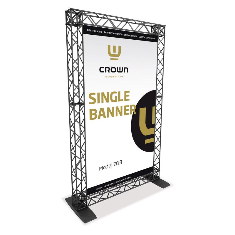 Single Banner model 763 154 cm x 246 cm