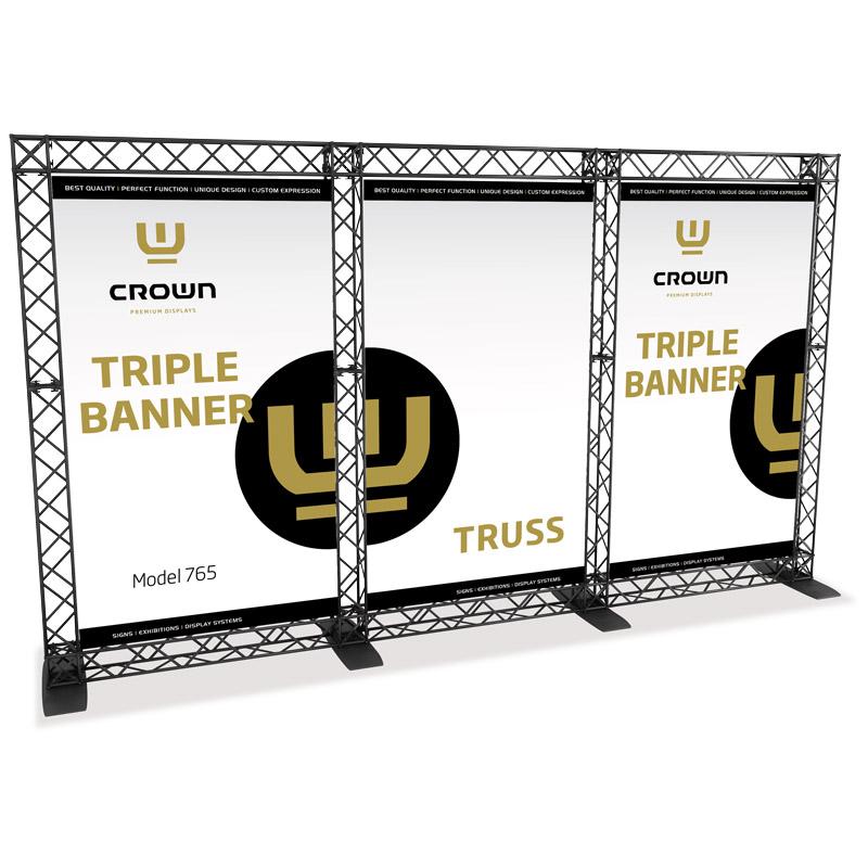 Triple banner model 765