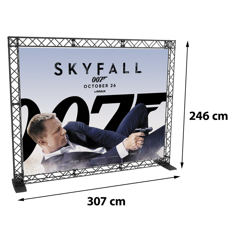 Wall banner model 766
