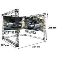 U-Shape 3x3 model 769 307 cm x 307 cm x 246 cmVoor specificatie van de samenstelling zie de catalogus