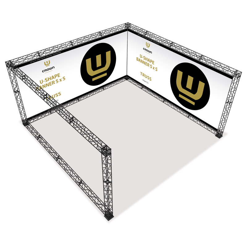 U-Shape 5x5 model 773 490 cm x 154 cm x 246 cm
