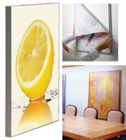 Ace textiel Frame enkelzijdig 500x1000 mm