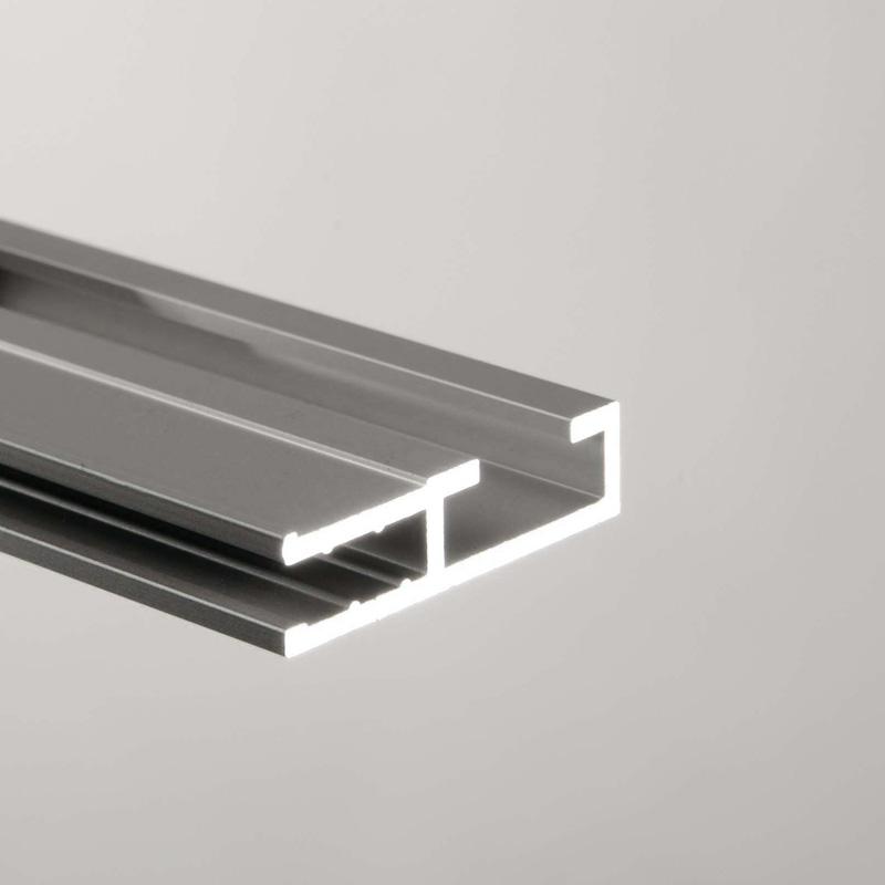 Ace enkelzijdig textiel-frame 1000 x 2000 mm