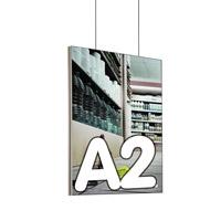 Queen textiel frame dubbelzijdig A2 (plafond) 45 x 15 mm
