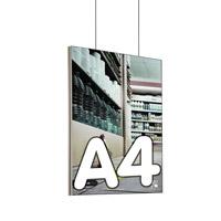 Queen textiel frame dubbelzijdig A4 (plafond) 45 x 15 mm