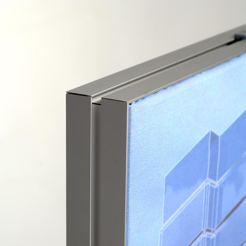 Queen textiel frame dubbelzijdig B0 (plafond) 45 x 15 mm