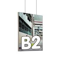 Queen textiel frame dubbelzijdig B2 (plafond) 45 x 15 mm