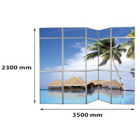 Panset presentation wall 5 x 3, 15 panels