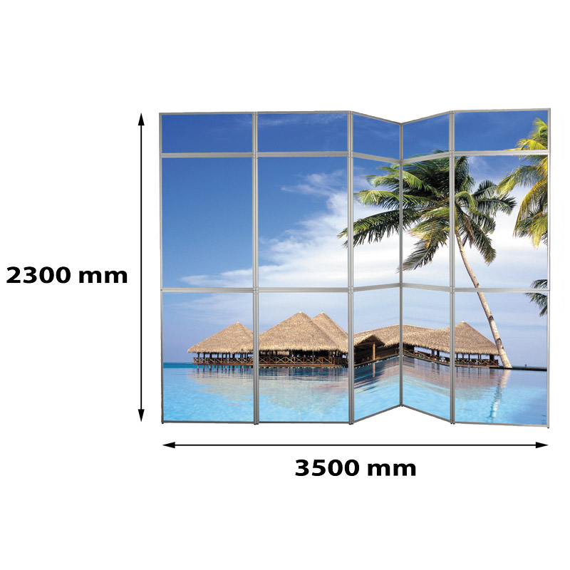 Panset murs de presentation 5x3