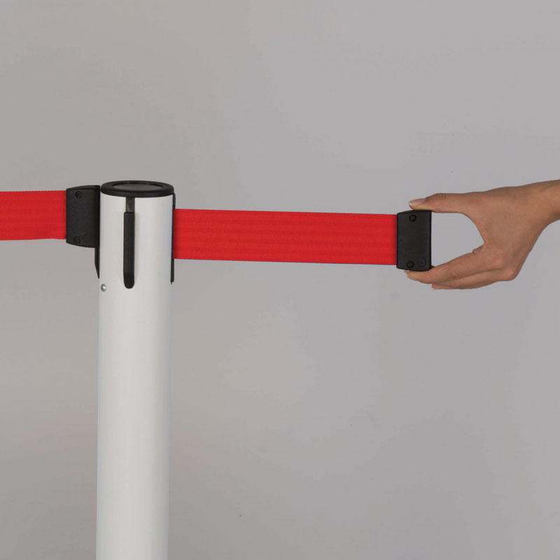Q belt black-red tape