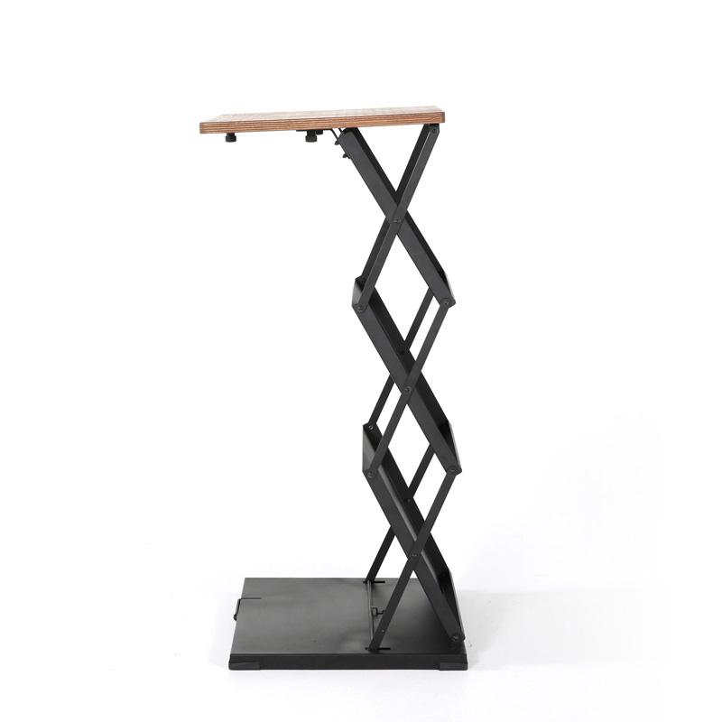 Opvouwbare houten toonbank 2xA4