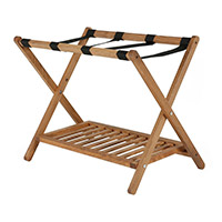 houten opvouwbaar bagagerek
