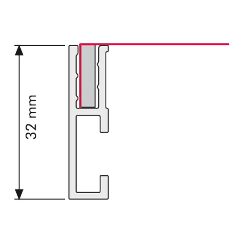 Single-sided maxi profile Ace