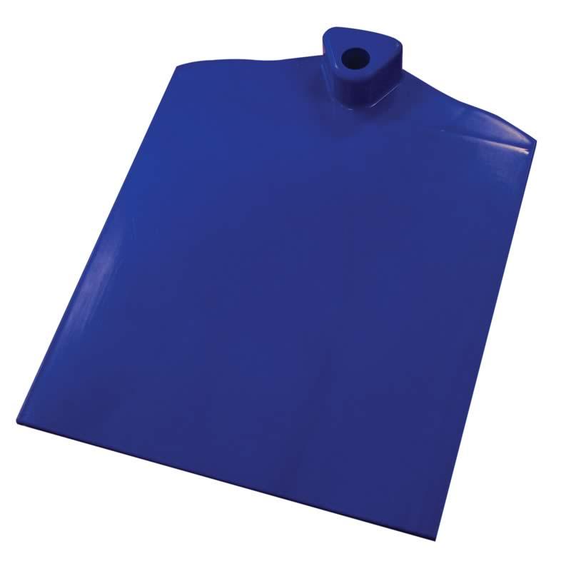 Pied en plastique 1 forme d'onde latérale transparante