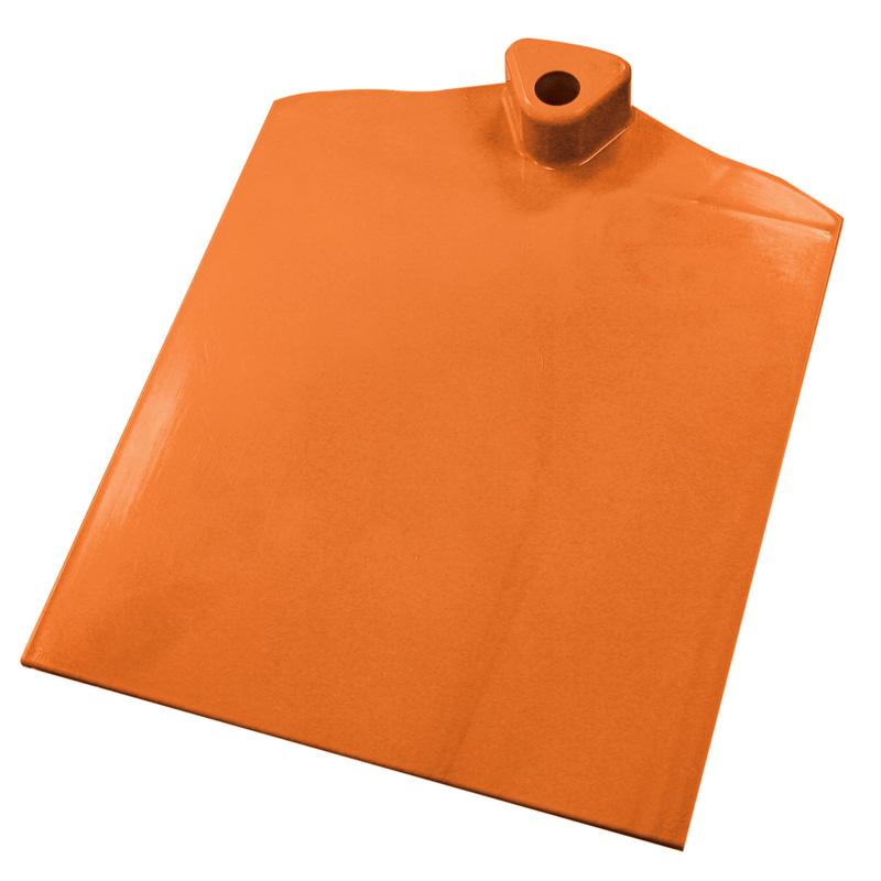 Plastic foot 1 side wave orange