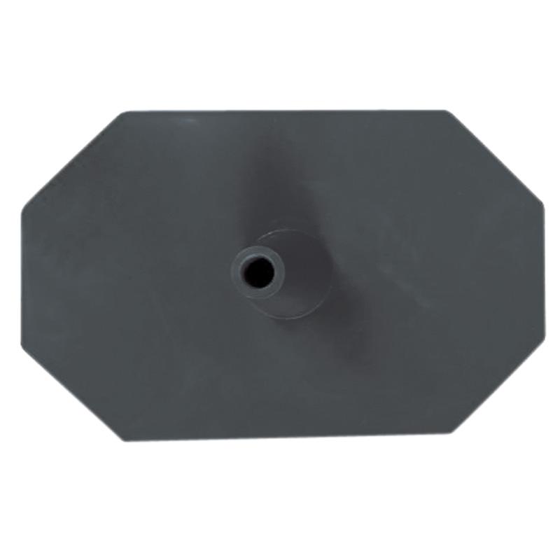 Octagon pieds 8 faces noir