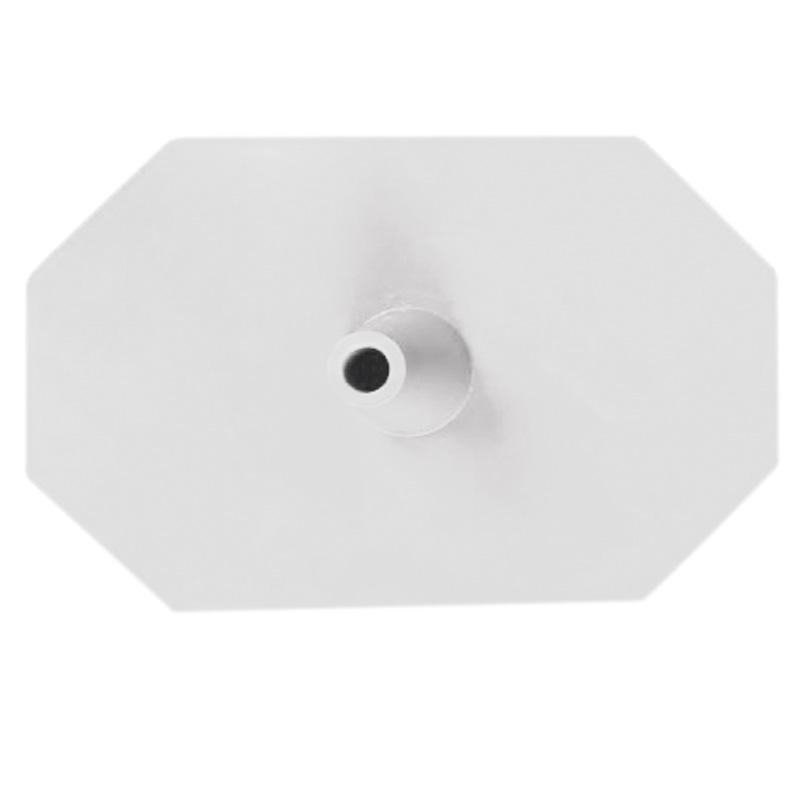 Kunststoff-Fuss (Hexagon) weiß