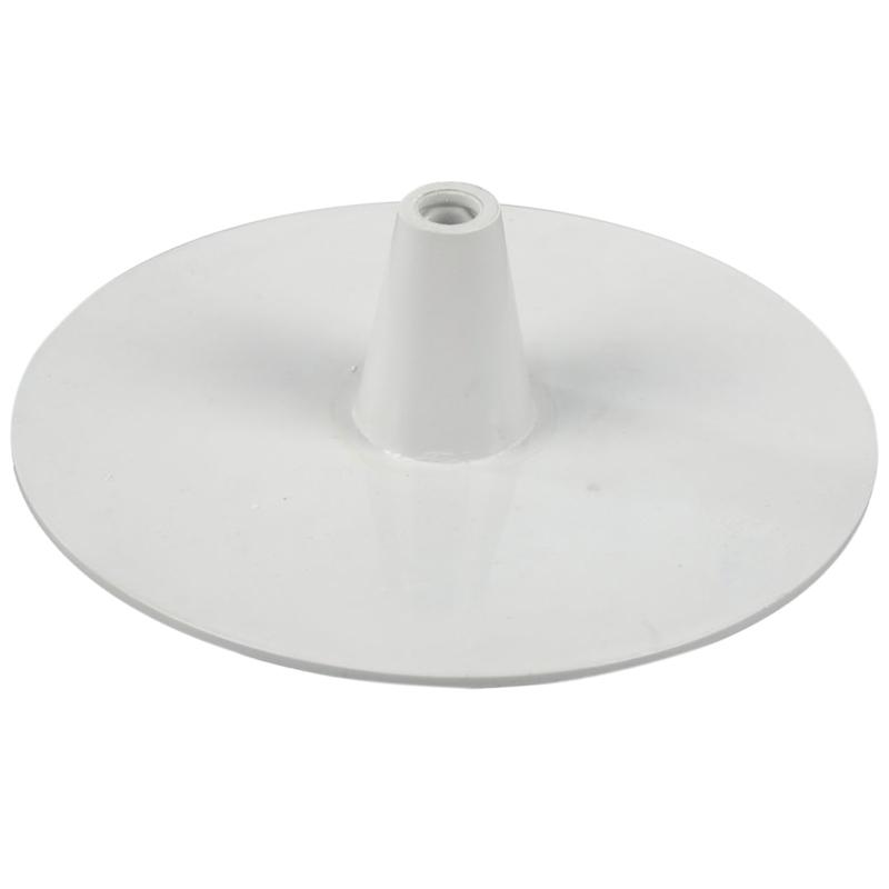 Plastic circle base white