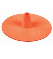 Ronde voet oranje