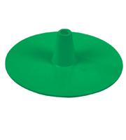 Ronde voet groen