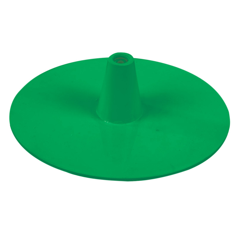 Plastic circle base green