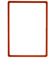 Presentation Frames without sheets, A3, red