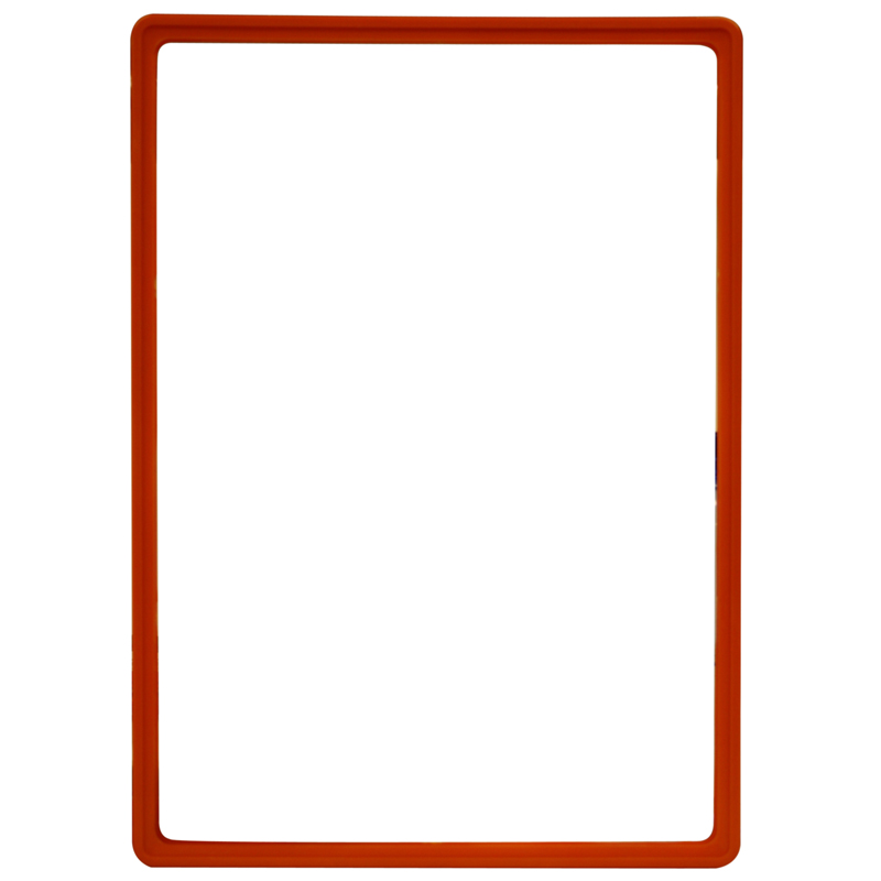 Display frame without pvc sheet A3 red