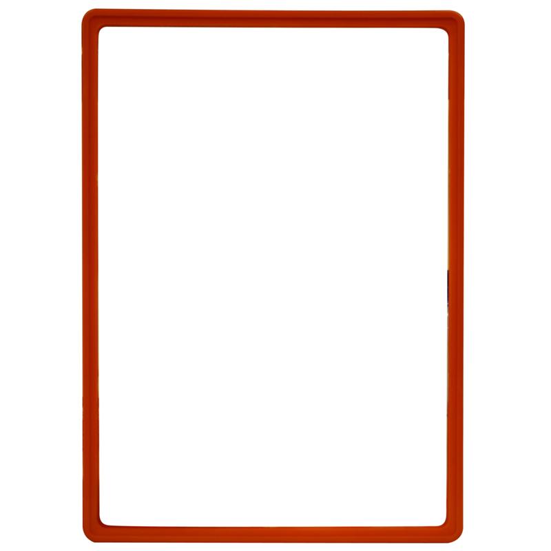 Display-Rahmen ohne PVC-Folie A3 rot