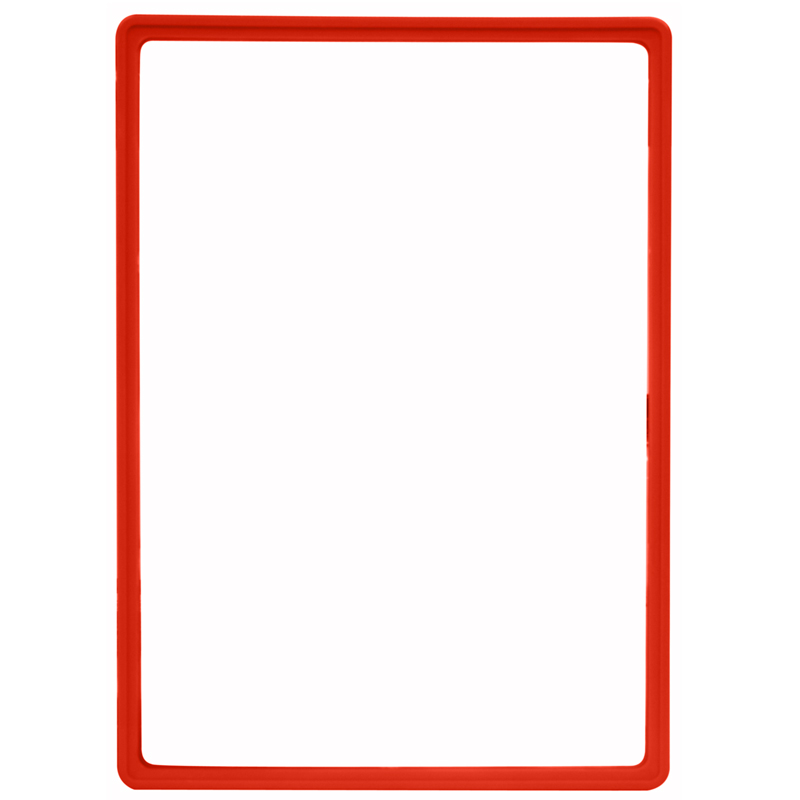 Display frame without pvc sheet A3 orange