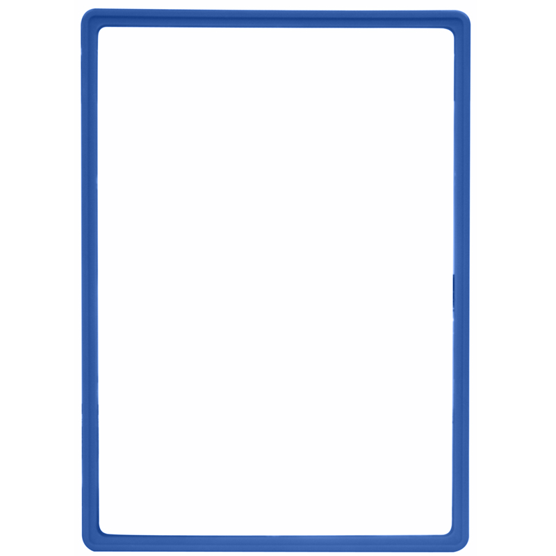 Display frame without pvc sheet A3 blue