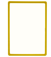 Presentation Frames without sheets, A3, yellow