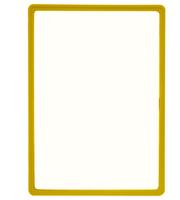 Presentatie raam A3 inschuif zonder sheets 297 x 420 mm geel