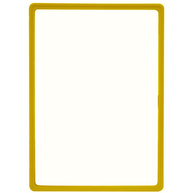 Display frame without pvc sheet A3 yellow