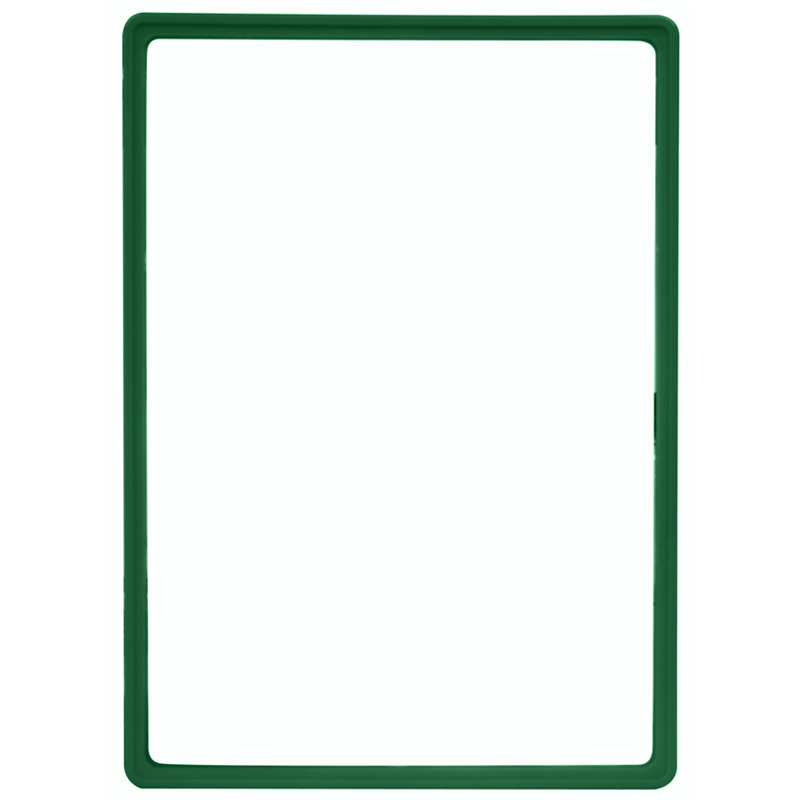 Display frame without pvc sheet A3 green