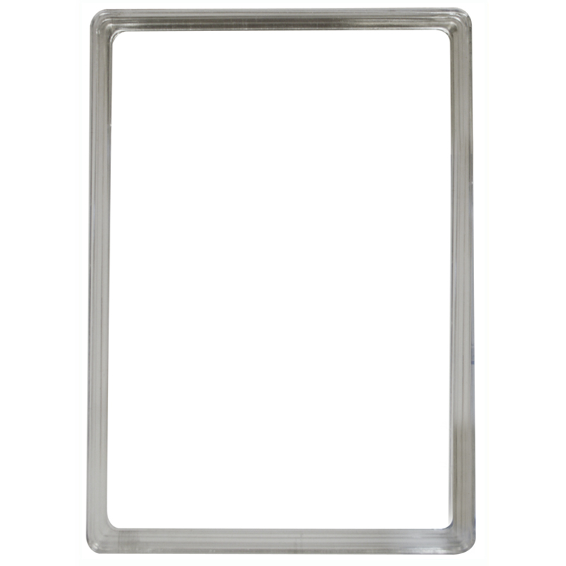 Display frame without pvc sheet A4 transparant