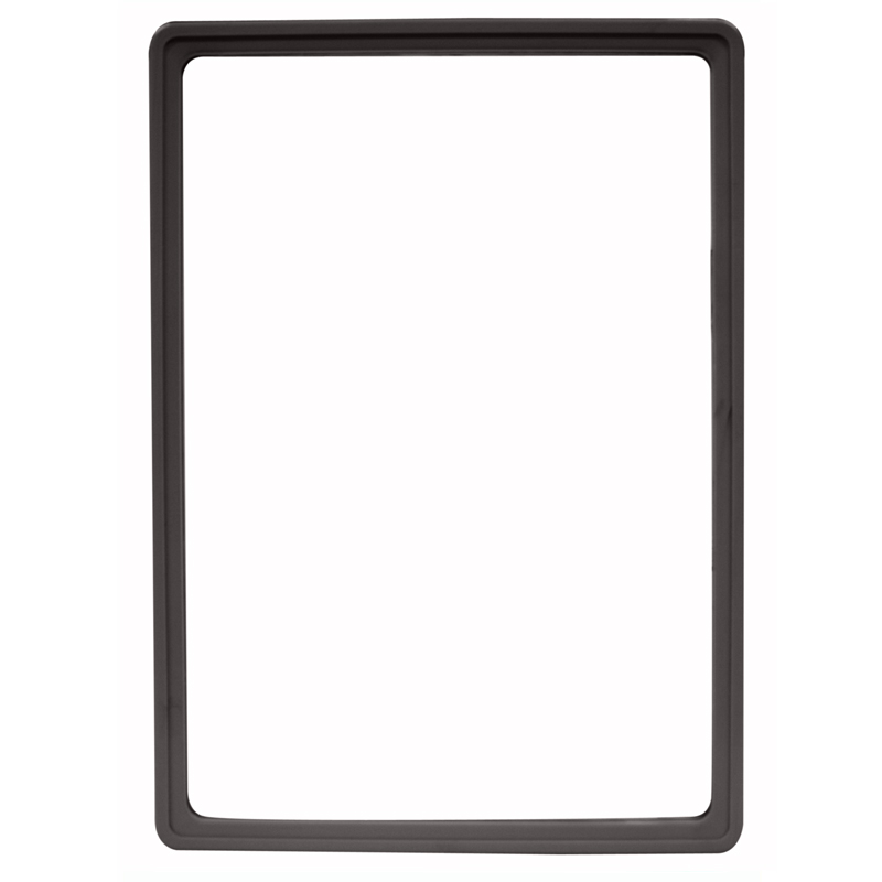 Display frame without pvc sheet A4 black