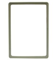 Presentatie raam A4 inschuif zonder sheets 210 x 297 mm grijs