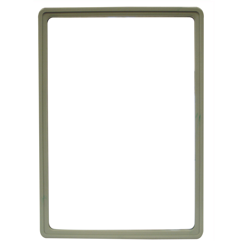 Display frame without pvc sheet A4 grey