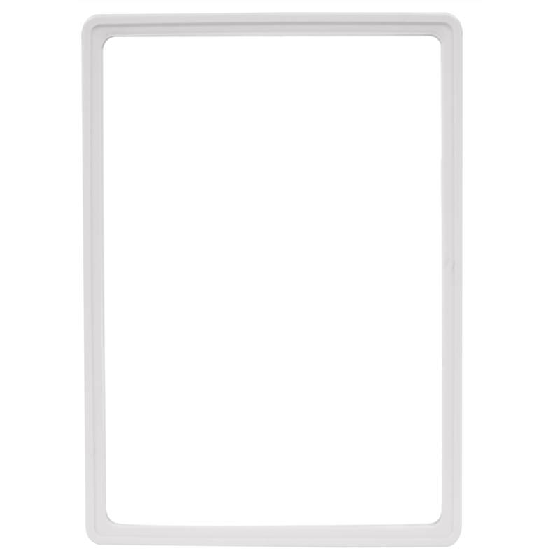 Display frame without pvc sheet A4 white
