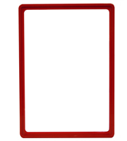 Presentation Frames without sheets, A4, red