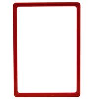 Presentatie raam A4 inschuif zonder sheets 210 x 297 mm rood