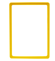 Presentation Frames without sheets, A4, yellow