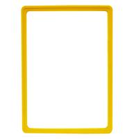 Presentatie raam A4 inschuif zonder sheets 210 x 297 mm geel
