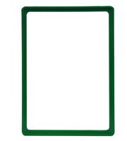 Presentatie raam A4 inschuif zonder sheets 210 x 297 mm groen